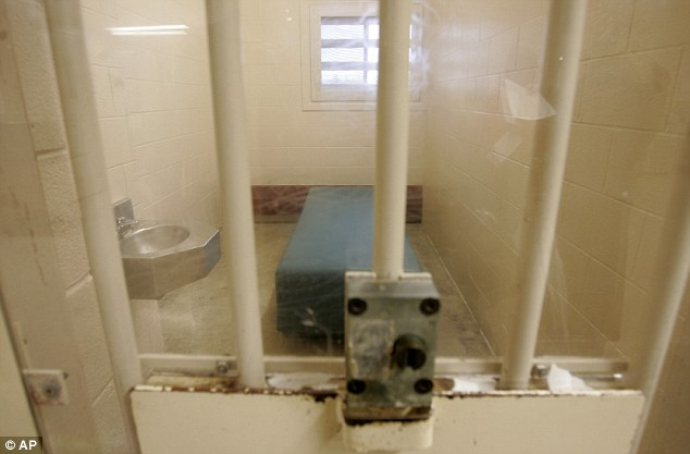 CRC jail cell